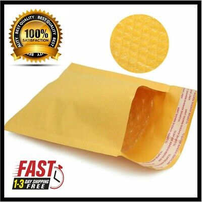 50 000 4x8 Kraft Bubble Mailers Padded Envelope Shipping Supply Bags 4 X 8