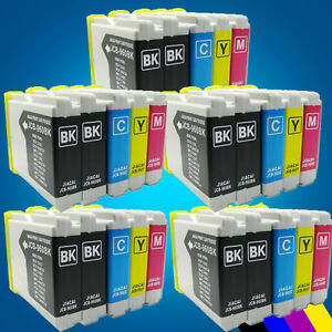 25 Ink Cartridge for Brother LC970 DCP 130C 135C 150C 153C 157C 330C 350C 540CN