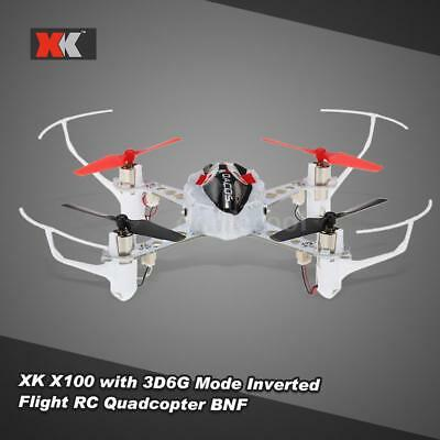 Original XK X100 DEXTERITY 2.4G 3D 6G Mode Indoor Drone RC Quadcopter BNF B1V1