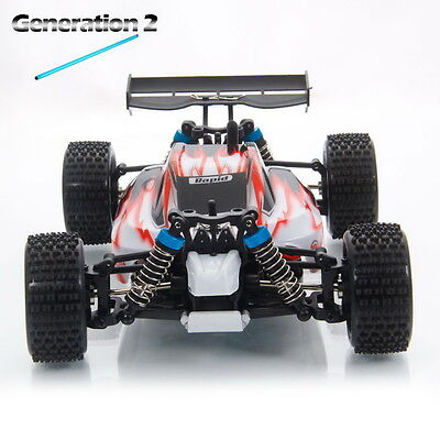 Upgrade Wltoys A959 2.4G 1/18 Vortex 4WD Electric RC Car Off-Road Buggy RTR Red
