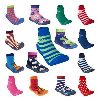 PLAYSHOES Kinder Aqua Socken mit UV-Schutz Hausschuhe Badeschuhe Badesocke NEU