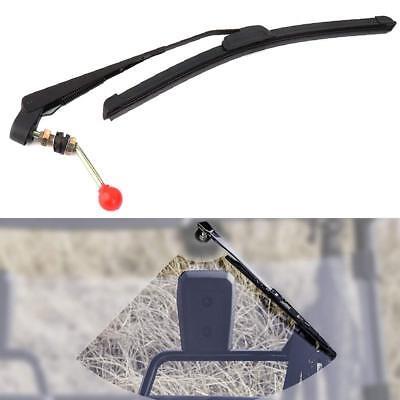 UTV Manual Windshield Wiper Universal for Polaris Ranger,RZR Kawasaki MULE,Teryx