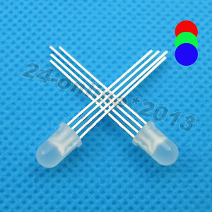 1000pcs-5mm-Round-top-Diffused-Multicolor-4-pins-Common-Anode-RGB-LED-light