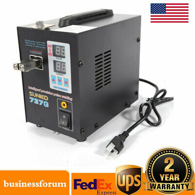 Hand Held Sunkko 737g Battery Spot Welder With Pulse Current Display Usa