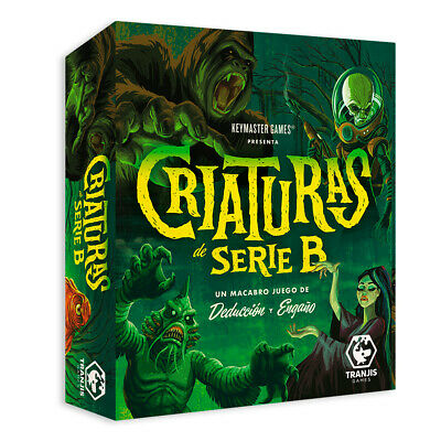 Tranjis Games - Criaturas de Serie B - NUEVO
