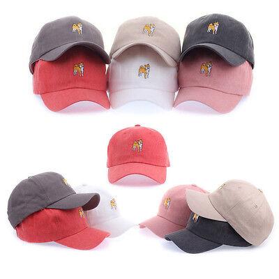 Treu Hund Shiba Inu Herren Damen Basecap Mützen Baseball Cap Hüte Kappe Hut