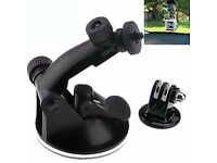 Practical Suction Cup Mount Tripod Adapter Camera Parts For Gopro Hero 4/3/HD