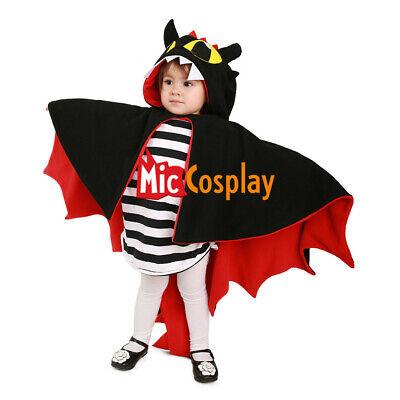 Kids Dragon Little Devil Cosplay Costume Cloak Cape for Boys or - Dragon Costume For Kids