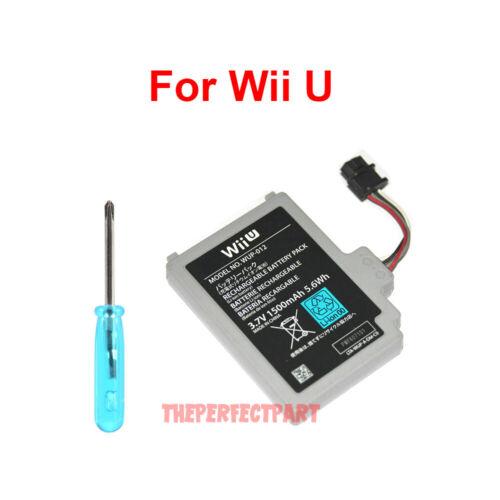 Original OEM New Replacement Battery Nintendo Wii U Gamepad Controller WUP-012
