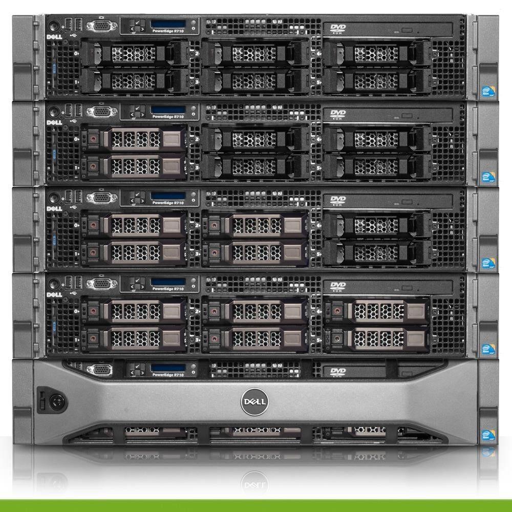 Details about Dell PowerEdge R710 3 5 Virtualization Server 2x 2 40GHz  E5645 32GB H700
