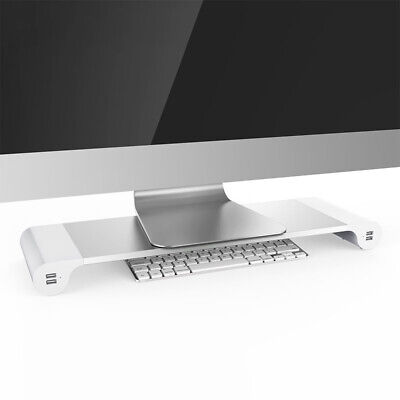 Monitor IMAC USB Charger Device Rack Interface Port PC Laptop Stand Desk EU L1J4