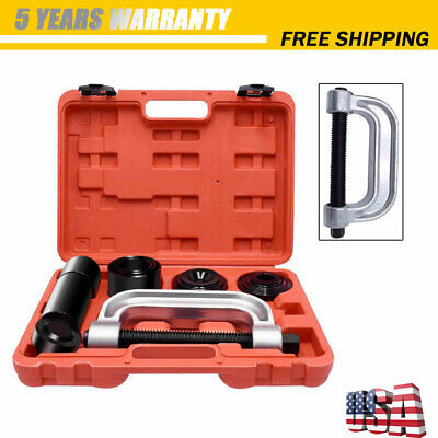 Heavy Duty 4 in 1 Ball Joint Press & Joint Removal Tool Kit 4x4 Adapters New