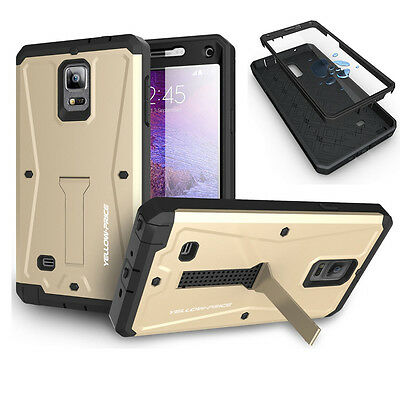 Best Hybrid Armor Hard Case Stand Cover Built Screen for Samsung Galaxy Note