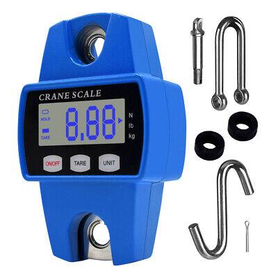 Mini Crane Scale 300kg660lbs Industrial Hook Hang Weight Digital Lcd Display