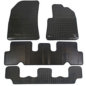 citroen grand c4 picasso mkii 2014 tailored 4 piece rubber car mat set 2 clips ebay. Black Bedroom Furniture Sets. Home Design Ideas