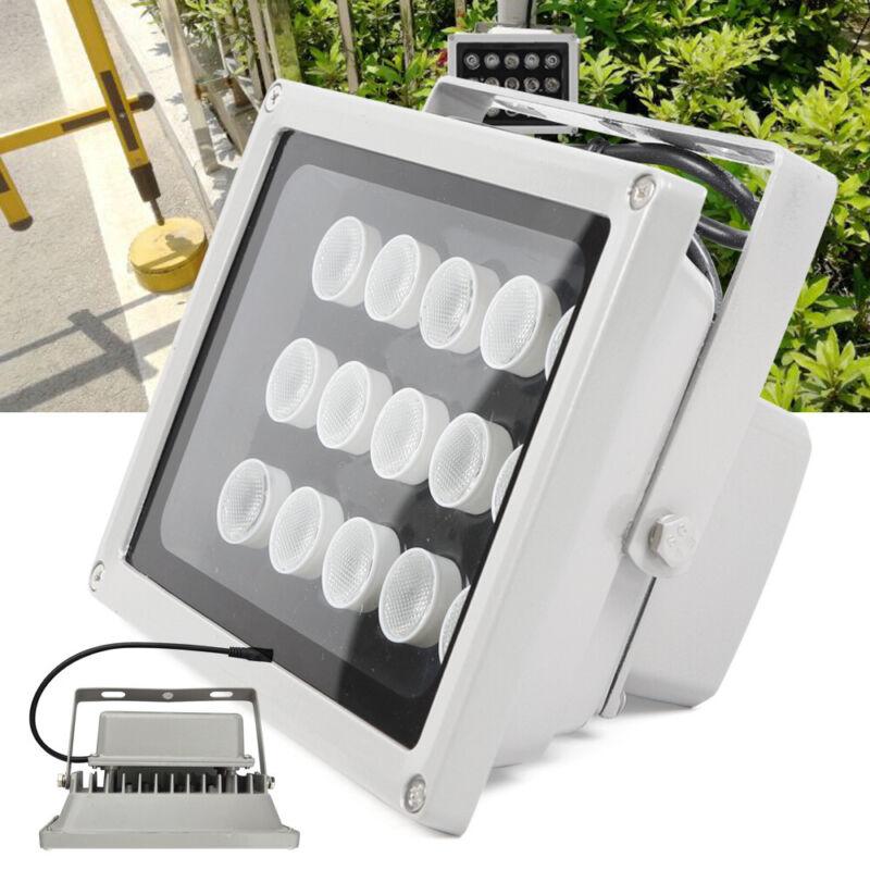 30W 12V Night Vision 15 LED IR Infrared Illuminator Lamp Floodlights Outdoor
