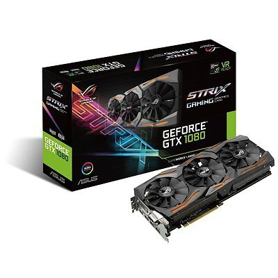 ASUS Computer International Direct GeForce GTX 1080 8GB ROG STRIX Graphics comprar usado  Enviando para Brazil