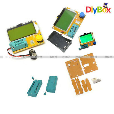 Lcr-t4 Atmega328 Digital Transistor Tester 12864 Lcd Capacity Esr Metercase