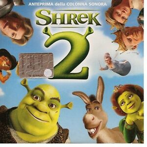 SHREK-2-Anteprima-Promo-CD-6-Tracks-Counting-Crows-David-Bowie-NEW