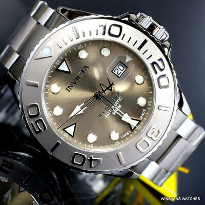Invicta Reserve Grand Diver Swiss Made Automatic Titanium 50mm Gray Watch New