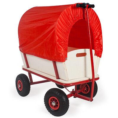 Bollerwagen Handwagen Transportwagen Gerätewagen mit Wetterplane 150kg NEU