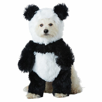 Panda Bear Pooch Pet Dog Halloween Costume Kung Fu Furry Animal XS-LG