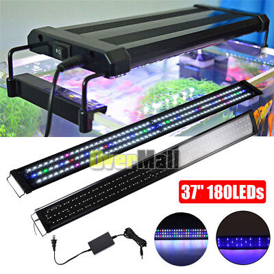 "37"" 180LEDs LED Light Full Spectrum For 36""- 43"" Aquarium Fish Tank Plant FOWLR"