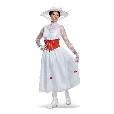 Disney's Mary Poppins - Deluxe Adult Costume - Costumes Disney Adults