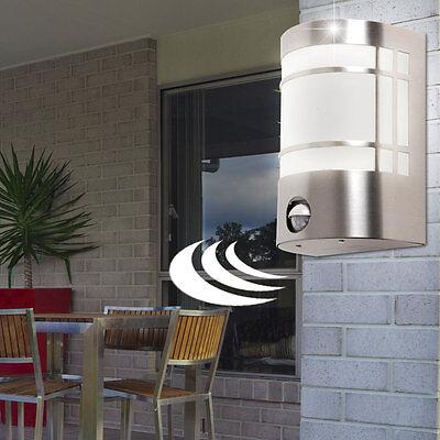 LED 7W Haus Eingang Wand Leuchte Sensor IP44 Außen Hof Licht mit Bewegungsmelder