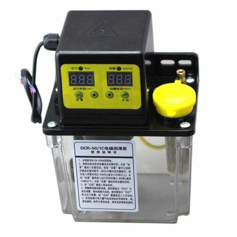 1.8L 220V Dual Digital Display Automatic Electric Lubrication Pump Oiler NC Pump