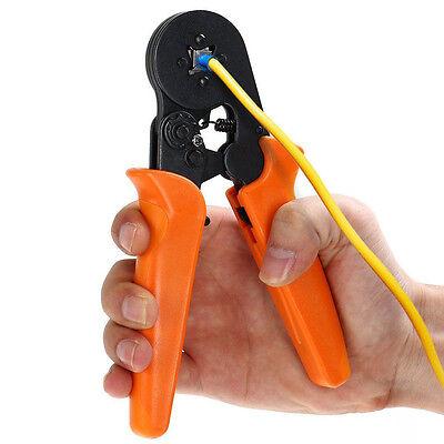 Self-adjusting Ratcheting Ferrule Crimping Plier Hsc8 6-4 Awg23-10 0.25-6.0mm