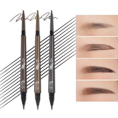3 Color Music Flower Makeup Sketch Eyebrow Pen Waterproof Eye Brow Pencil](Makeup Sketch)