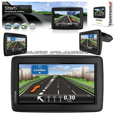"""TomTom Start 25 Sat Nav GPS 5"""" Inch Widescreen UK & Europe Lifetime Free Map"""