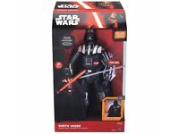 Star Wars The Force Awakens Interactive Darth Vader Toy Brand New