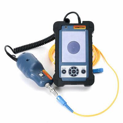 3.5 Inch 400x Fiber Optic Inspection Microscope Video Fiber Inspection Probe