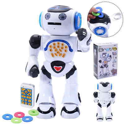 Infrared RC Robot Intelligent Remote Control Walking Dancing Singing Shooting