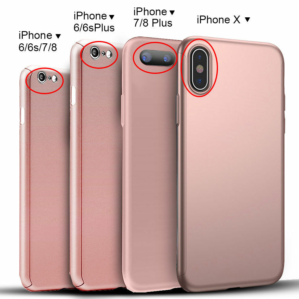 ultra thin hard case cover for iphone x 6 6s 7 8 iphone8. Black Bedroom Furniture Sets. Home Design Ideas