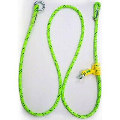 Rope Logics Adjustable Friction Saver 58in 10ft Kmiii Green Arborist Rigging