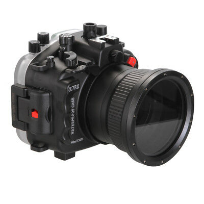73840f39a9509 40m 130ft Waterproof Underwater Camera Housing Diving Case for Sony Alpha  a7RIII