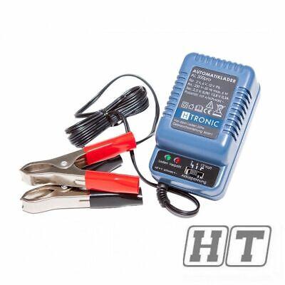 Roller Batterie Ladegerät H-Tronic AL300 6V 12V für 50 Motorrad Auto Scooter