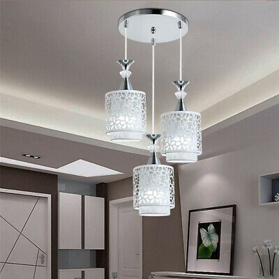 Modern Petal Ceiling 3 LED Light Pendant Lamp Dining Room Chandelier Fixture USA