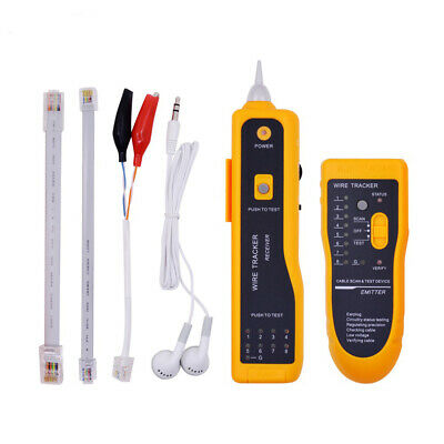 Jw-360 Network Rj11 Line Finder Cable Tracker Tester Toner Wire Tracer Pouch
