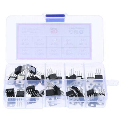 Mosfet Transistors Assortment Kit L78 Series Transistor 50pcs/Set 10 Types