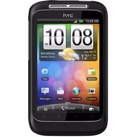 HTC Wildfire S Sim Free Mobile Phone – Black