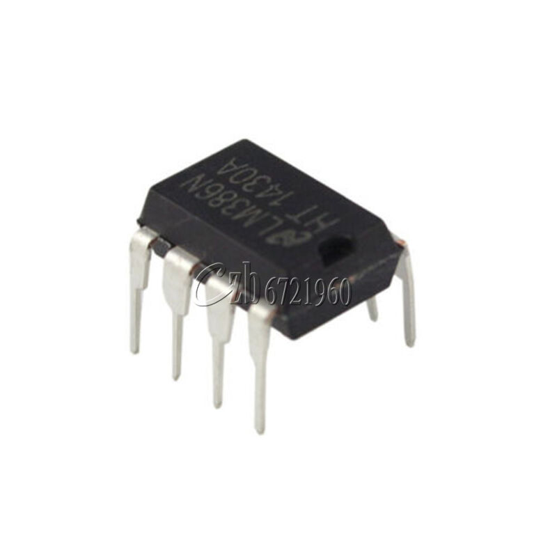 50PCS LM386 LM386N DIP-8 Audio Power AMPLIFIER IC