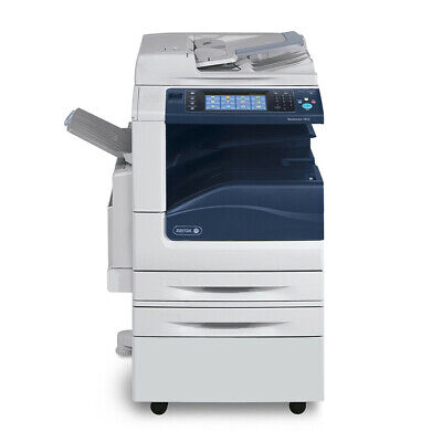 Xerox Workcentre 7830 Mfp A3 Color Copier Printer Scanner Fax 2 Trays