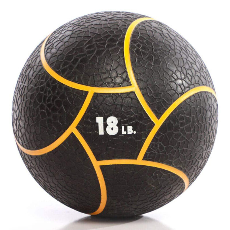 Power Systems Elite Power Exercise Medicine Ball Prime Weight, 18 Pounds, Orange