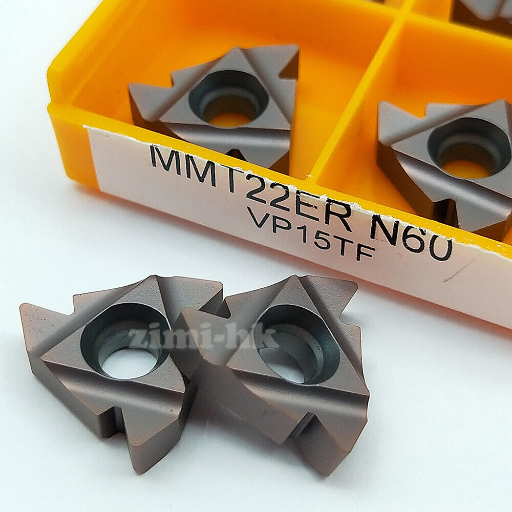 10pcs 22ER N60 VP15TF Threading Blade CNC Carbide Insert For Stainless Steel