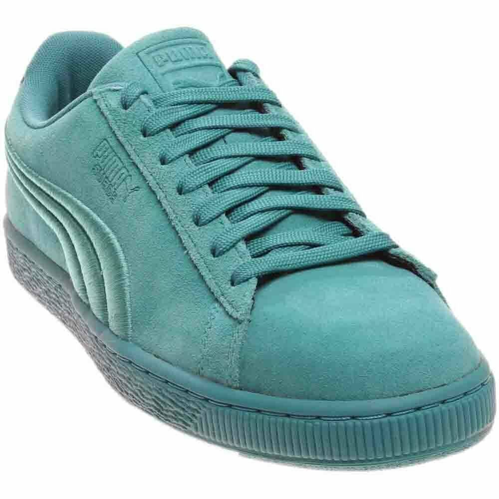 Puma Suede Classic Badge  Casual   Sneakers - Blue - Mens