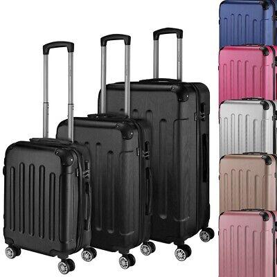 Go2Travel Hartschalenkoffer Reisekoffer Trolley Bordgepäck Kofferset